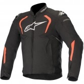 ALPINESTARS T-GP Pro V2 Black / Red Fluo