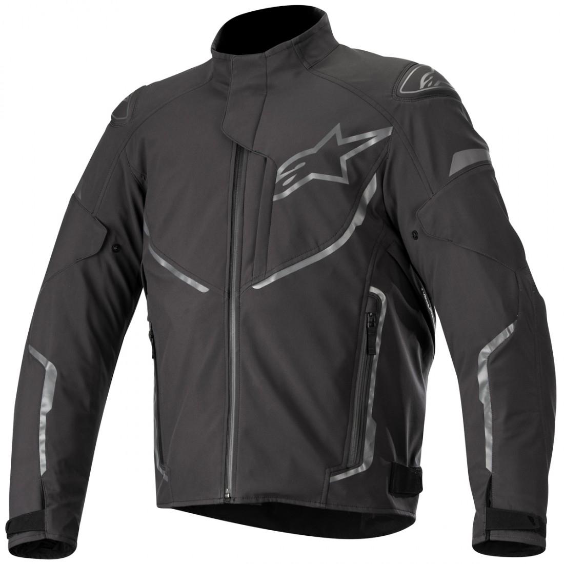 Alpinestars Motorcycle Jacket >> Alpinestars T Fuse Sport Waterproof Anthracite Jacket Motocard