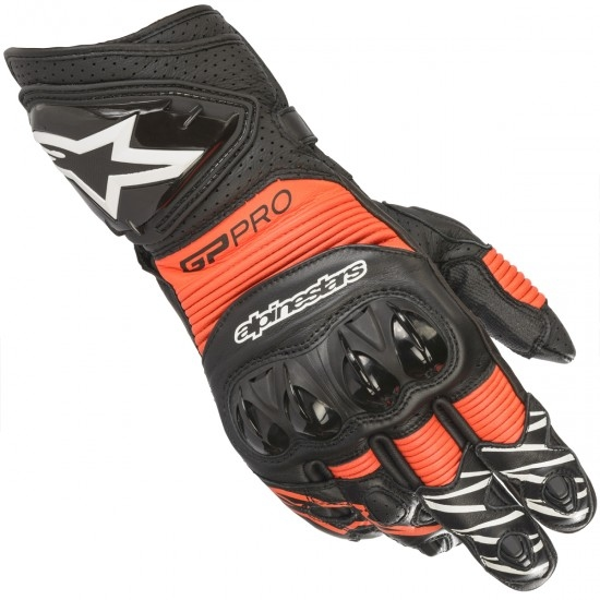 Handschuh ALPINESTARS Gp Pro R3 Black / Red Fluo