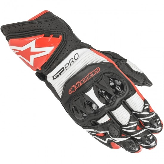 Guantes ALPINESTARS Gp Pro R3 Black / White / Bright Red