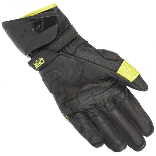 Handschuh ALPINESTARS Gp Pro R3 Black / Yellow Fluo