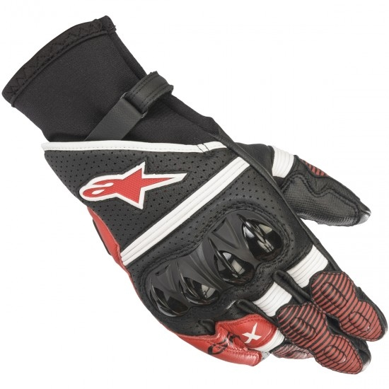 Gants ALPINESTARS GP X V2 Black / White / Bright Red