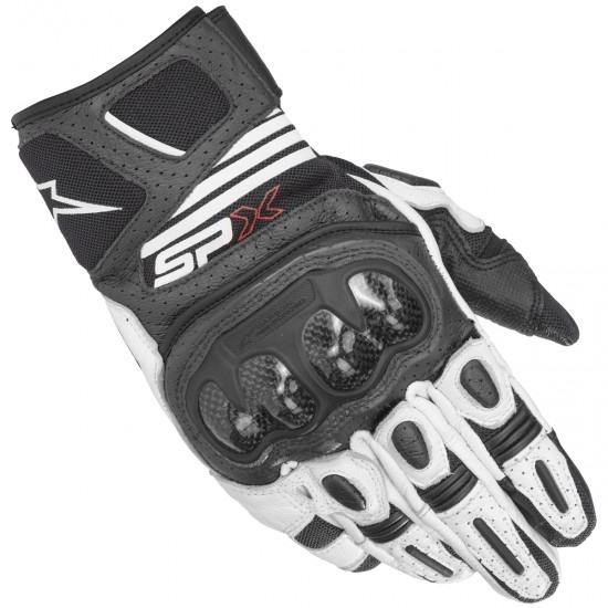 Guantes ALPINESTARS Sp X Air Carbon V2 Black / White