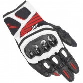ALPINESTARS Sp X Air Carbon V2 Black / White / Red Fluo