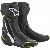ALPINESTARS SMX Plus V2 Black / White / Yellow Fluo