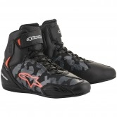 ALPINESTARS Faster-3 Black / Grey Camo / Red Fluo