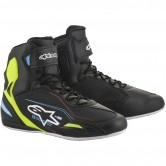 ALPINESTARS Faster-3 Black / Yellow Fluo / Light Blue