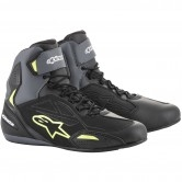 ALPINESTARS Faster-3 Drystar Black / Grey / Yellow Fluo