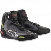 ALPINESTARS Faster-3 Rideknit Black / Grey / Red / Yellow Fluo