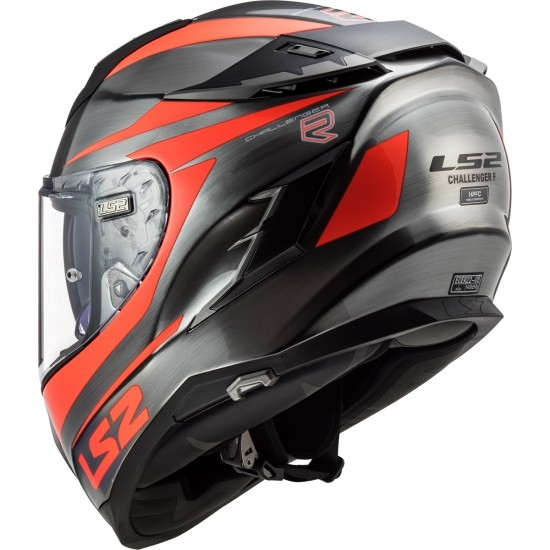 Casco LS2 FF327 Challenger Cannon Jeans / Fluo Orange