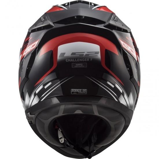 Casco LS2 FF327 Challenger GP Black / Red