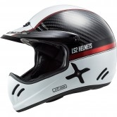 LS2 MX471 Xtra Yard Carbon / White / Red