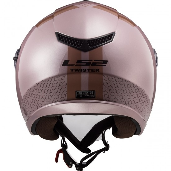 Casco LS2 OF573 Twister II Combo Pale Pink