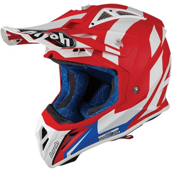 Casco AIROH Aviator 2.3 AMS2 Bigger Red Matt