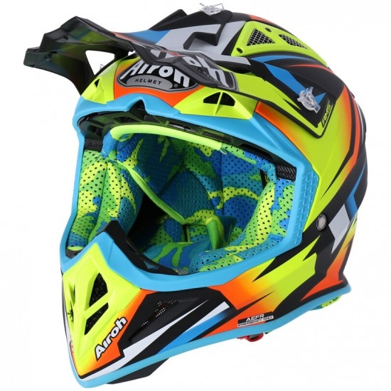 Casco AIROH Aviator 2.3 AMS2 Fame Yellow Matt