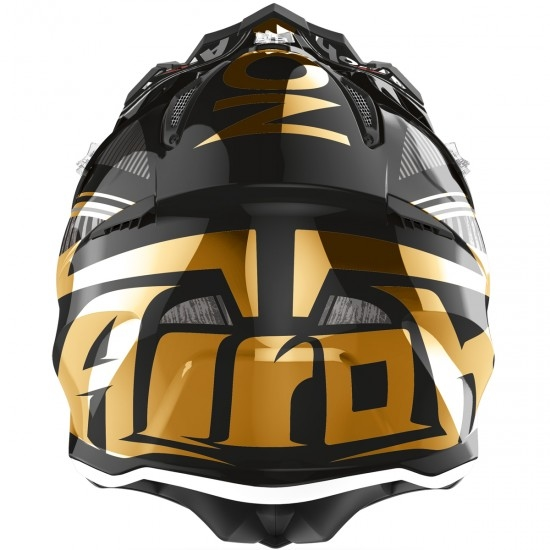 Casco AIROH Aviator 2.3 AMS2 Novak Chrome Gold