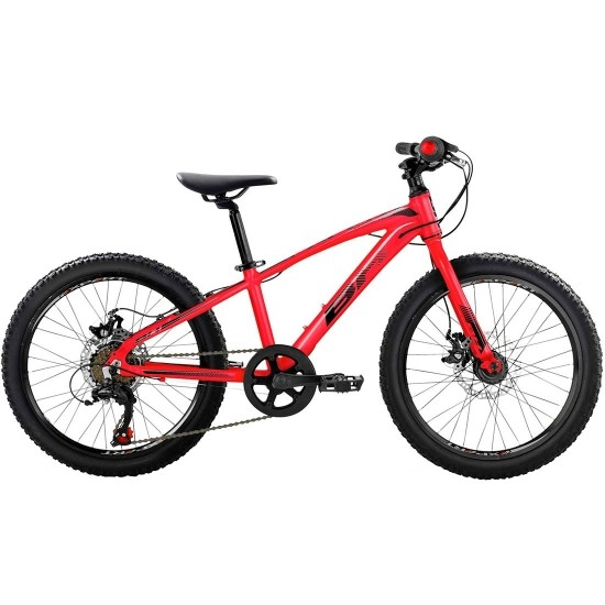 "BH Expert Junior 20"" Disc 2019 Black / Red Mountainbike"