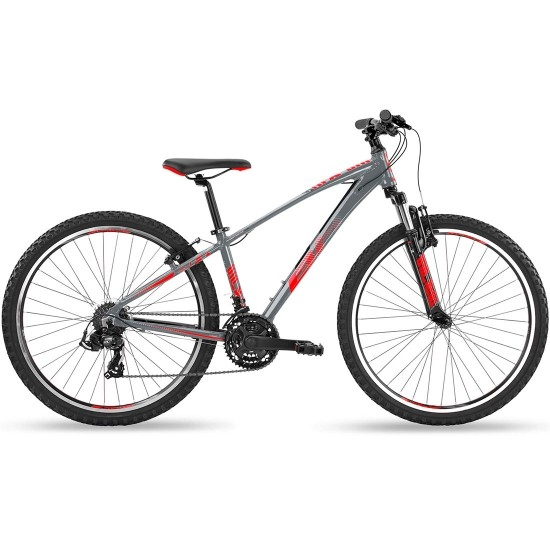 "Bicicleta de montaña BH Spike Junior 26"" 2019 Grey / Black / Red"