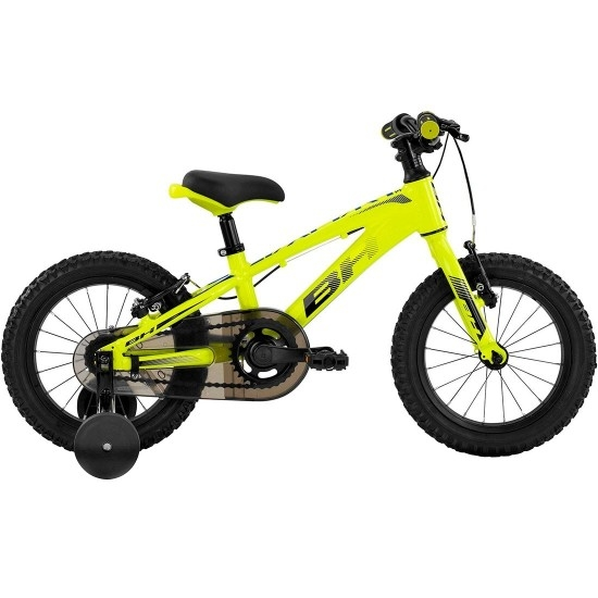"Bici da montagna BH Expert Junior 14"" 2019 Yellow / Blue"
