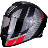 SCORPION Exo-R1 Air Corpus Matt Black / Silver / Red