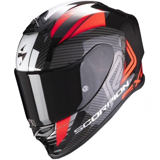 Casco SCORPION Exo-R1 Air Halley Black Metal / Red