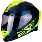 SCORPION Exo-R1 Air Ogi Black / Neon Yellow