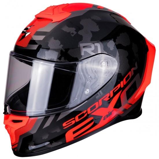 Helm SCORPION Exo-R1 Air Ogi Black / Red