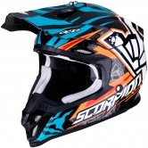 SCORPION Vx-16 Air Rok Bagoros Orange / Blue