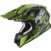 SCORPION Vx-16 Air Albion Matt Green / Black