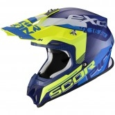 SCORPION Vx-16 Air Arhus Matt Blue / Yellow Fluo