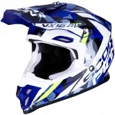 SCORPION Vx-16 Air Waka Black / White / Blue