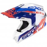 SCORPION Vx-16 Air Arhus Pearl White / Blue / Neon Red