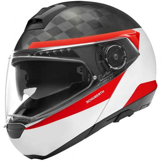 Helm SCHUBERTH C4 Pro Carbon Delta White