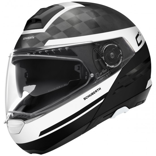 Casco SCHUBERTH C4 Pro Carbon Tempest White