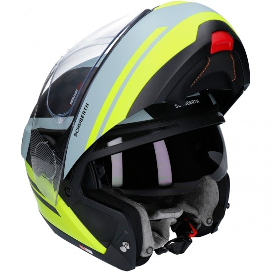 SCHUBERTH C4 Pro Carbon Tempest Yellow Helmet