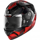 SHARK Ridill 1.2 Mecca Black / Red / Silver