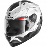 SHARK Ridill 1.2 Mecca White / Black / Red
