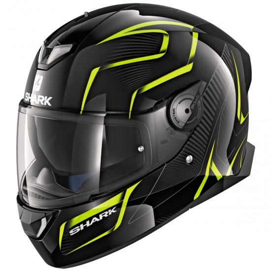 Casco SHARK Skwal 2.1 Flynn Black / Yellow / Anthracite