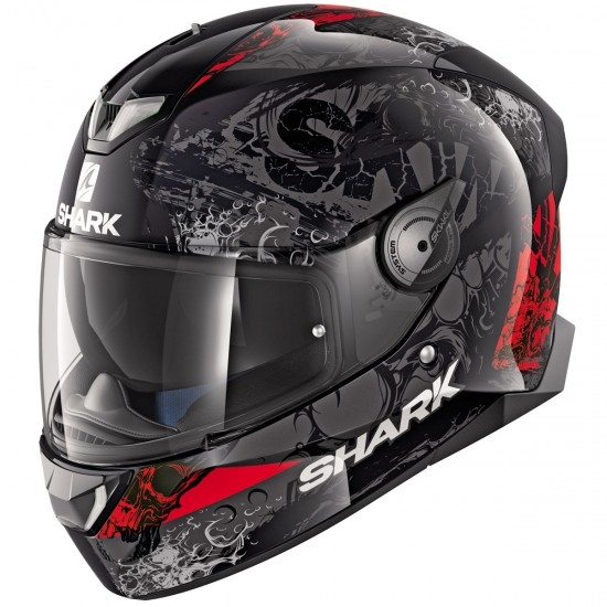 Casco SHARK Skwal 2.1 Nuk'Hem Black / Anthracite / Red