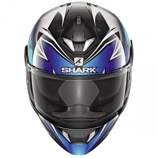 Casco SHARK Skwal 2.1 Replica Oliveira Black / Blue / Yellow