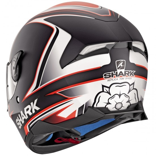 Casco SHARK Skwal 2.1 Replica Sykes Mat Black / White / Orange
