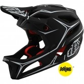 TROY LEE DESIGNS Stage MIPS Pinstripe Black / White