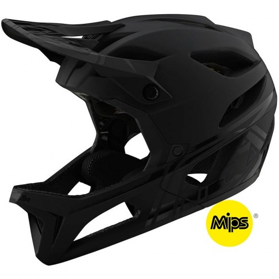 Casco TROY LEE DESIGNS Stage MIPS Stealth Midnight