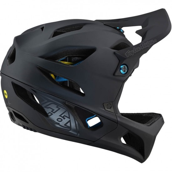 Casco TROY LEE DESIGNS Stage Stealth Black