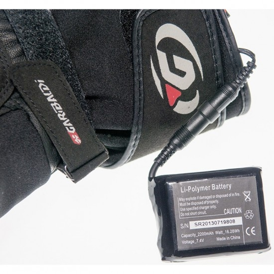 GARIBALDI TCS Black Gloves