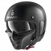 SHARK S-Drak Carbon Skin Carbon / Silver / Black
