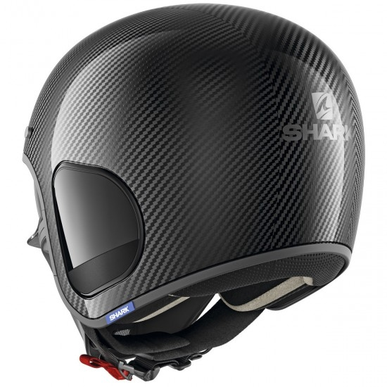 SHARK S-Drak Carbon Skin Carbon / Silver / Black Helmet