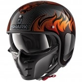 SHARK S-Drak Carbon Dagon Carbon / Orange / Orange