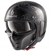 SHARK S-Drak Carbon Freestyle Cup Carbon / Anthracite / Anthracite
