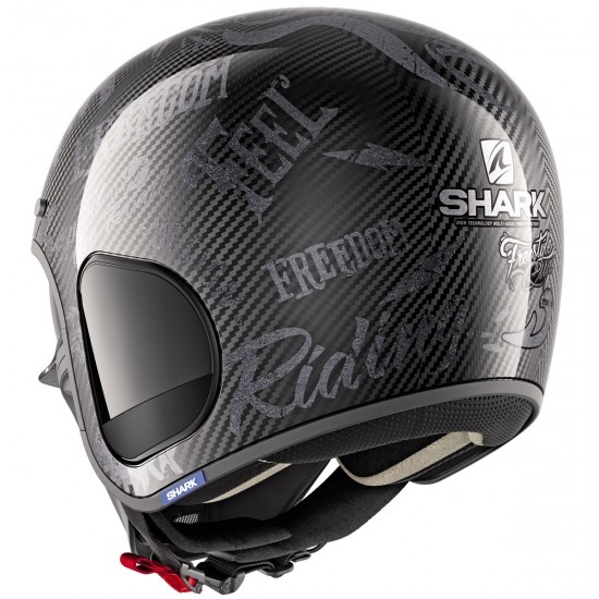 Helm SHARK S-Drak Carbon Freestyle Cup Carbon / Anthracite / Anthracite
